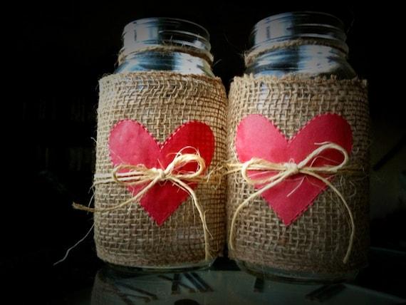 Decorated Mason Jars Valentines Day Mason Jars By Queenbeader