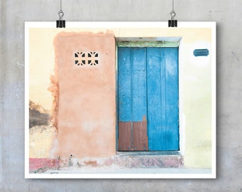 Cuba Fine Art Travel Photography Trinidad Cuba wall art home decor travel print poster big print house wall front door wooden shabby chic