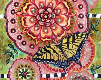 "8x10 Archival Print- ""Swallowtail Butterfly"""