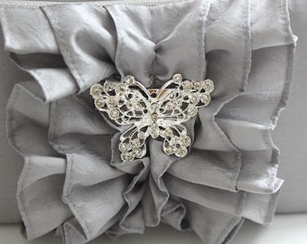 Butterfly Rhinestone Brooch Add-on - Extra Sparkle for your Clutches