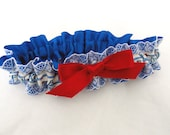 True Colors-Let Freedom Ring Patriotic Garter 4th of July-Holiday Wedding-Military-Veterans-1