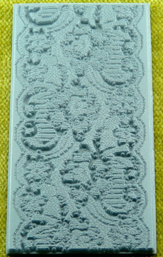 Spanish Lace Texture Rubber Stamp TTL-607