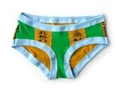 Mario & Goomba Undies - Handmade Underwear