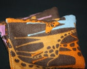 HANDWARMERS or BOOBOO BAGS. reusable handwarmers/ice packs set of two. melvin the giraffe