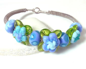 Hydrangea and Silver Bangle