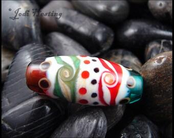 Beadworx - Lampwork Glass Focal Bead - Ancient Dreams