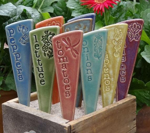 6 Vegetable Garden Stakes