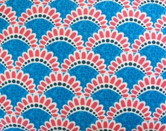 SALE - Terra Australis - By Ella Blue - Harbour Bridge - Pink - 8.00 A Yard