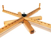 Amish Style Yarn Swift, Portable Wooden Yarn Swift, Knitting Skein Winder Or Yarn Winder - Handcrafted From Solid Maple - 30 Inch