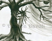 Tree Sprite Fantasy Art 11x14 Print