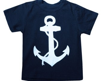 Kids NAUTICAL ANCHOR T-shirt