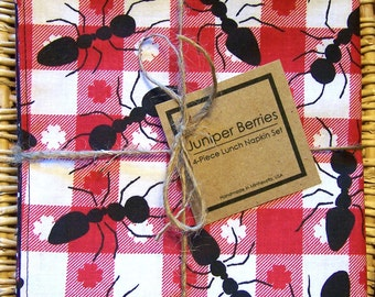 Ant Picnic Cloth Lunch Napkin Set
