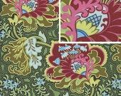 BELLE Amy Butler Fabric -1 Yard Gothic Rose Burgandy  -yard cut, yardage available BTY