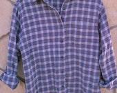 Vintage Columbia Long Sleeve Flannel Like Shirt