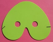Masquerade Mask - Lime Green - LAST ONE