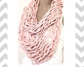 Arm Knitted Infinity Scarf Tutorial PDF