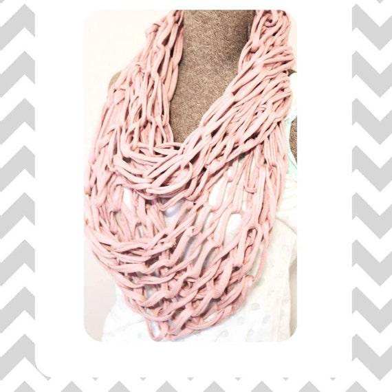 Arm Knitting Tutorial Pdf : Arm knitted infinity scarf tutorial pdf by bobishi on etsy