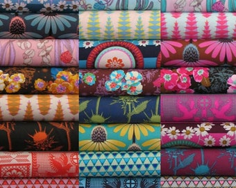 Pretty Potent Collection - Fabric by Anna Maria Horner - 24 Fat Eighth Bundle - Complete Collection