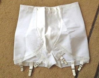 Vintage Girdle Six Garters Never Worn Size 34 60s