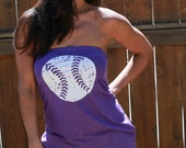 Baseball  FD Feel Naked Tshirt Tube Tops- 13 tube top colors and 14 ink colors.