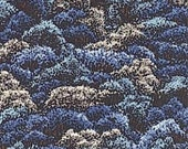 Tree Tops in Aqua/Landscapes by Robert Kaufman/ehj696570  - Cotton Quilt Fashion Fabric - Pick Your Cut