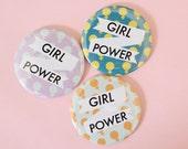 Girl Power Pocket Mirror