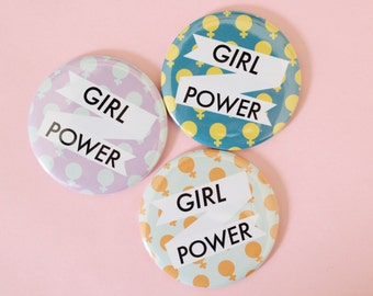 Girl Power Pocket Mirror