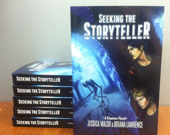 Seeking the Storyteller - A Hunters Novel SIGNED COPY