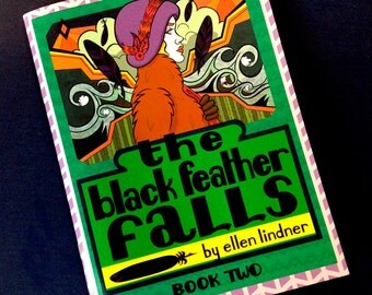 The Black Feather Falls: Book Two - Full Color Mystery Comic