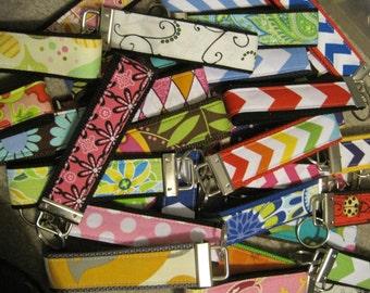 SALE 10.00 off Wholesale lot 25 Large Wristlet Key Fobs