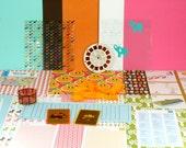 Lollipop Circus Papercrafting Kit