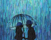 in the rain (11x14 print)