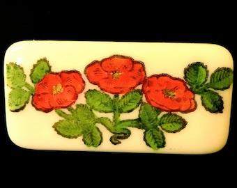 Rose Trio Brooch Pin