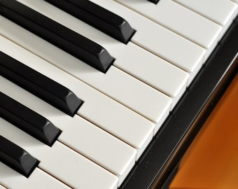 Piano Keys Box Set(6) Note Cards