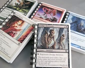 Magic the Gathering Mini Notebook You Choose Recycled Cards - Life Counters - White Border