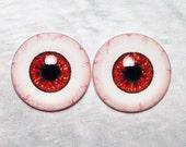 Doll eyes 12mm ADHR color Mahogany