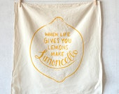 Limoncello kitchen towel