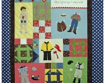 When I Grow Up - Quilt Pattern Book
