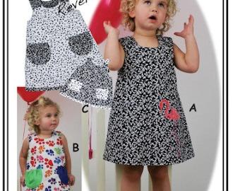 Jump-N Dress, Jumper, Top, Headband & Doll's Dress Sewing Pattern