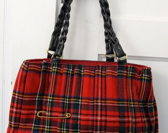 Scottish Red Kilt Purse