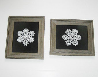 Vintage Lace Crocheted Doily Pictures (2)