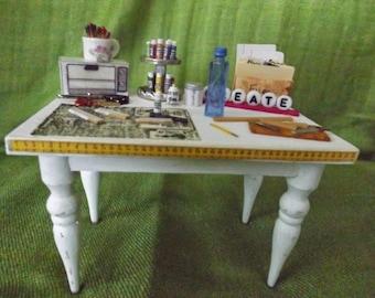 miniature craft table
