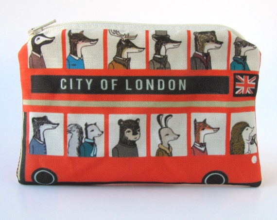 London Doubledecker Pouch