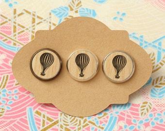 10 pcs handmade balloon - earrings, pendant, ring - 12mm (PW-016)