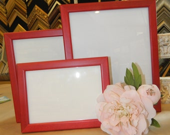 Red Hot Picture Frames - 8 x 10""
