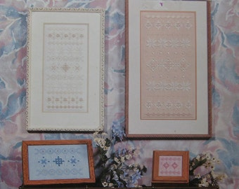 Nordic Sampler in Hardanger Embroidery Pattern Book