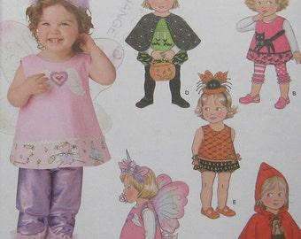 Simplicity Toddlers Halloween Costume Pattern 1774