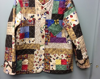 Quilted Jacket from Sewing Fabrics