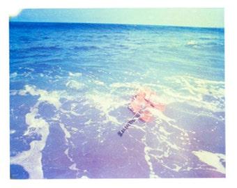"Photography Polaroid Guitar Music Art Surf Ocean Puerto Rico Rincon Matt Schwartz 4""x5"" Print"