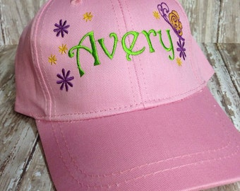 1 Adult and 1 Youth Sized Custom Personalized Baseball Hat Cap Custom Ebmroidery